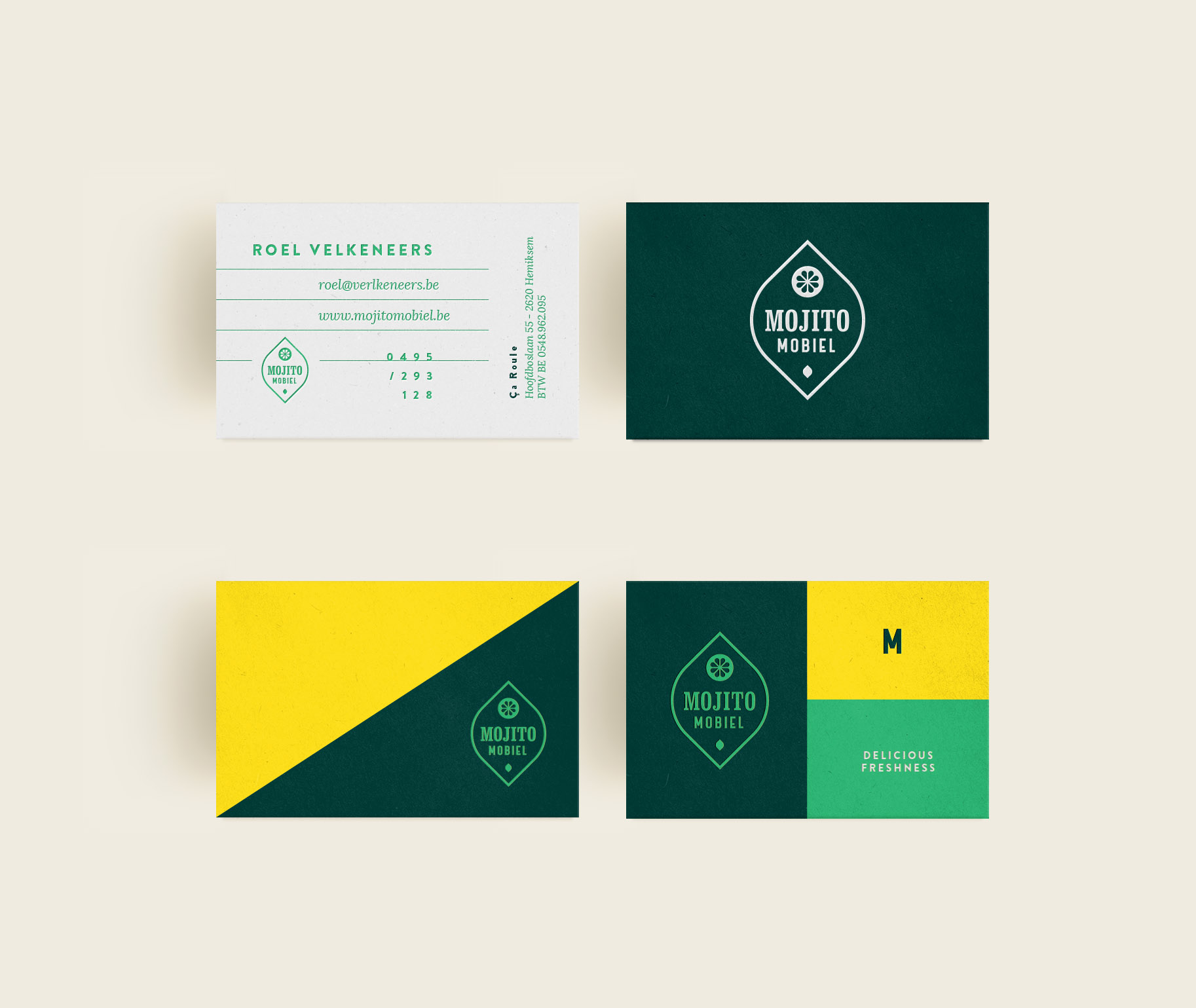 branding businesscards foodtruck