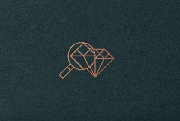 antwerp world diamond centre icon graphic design