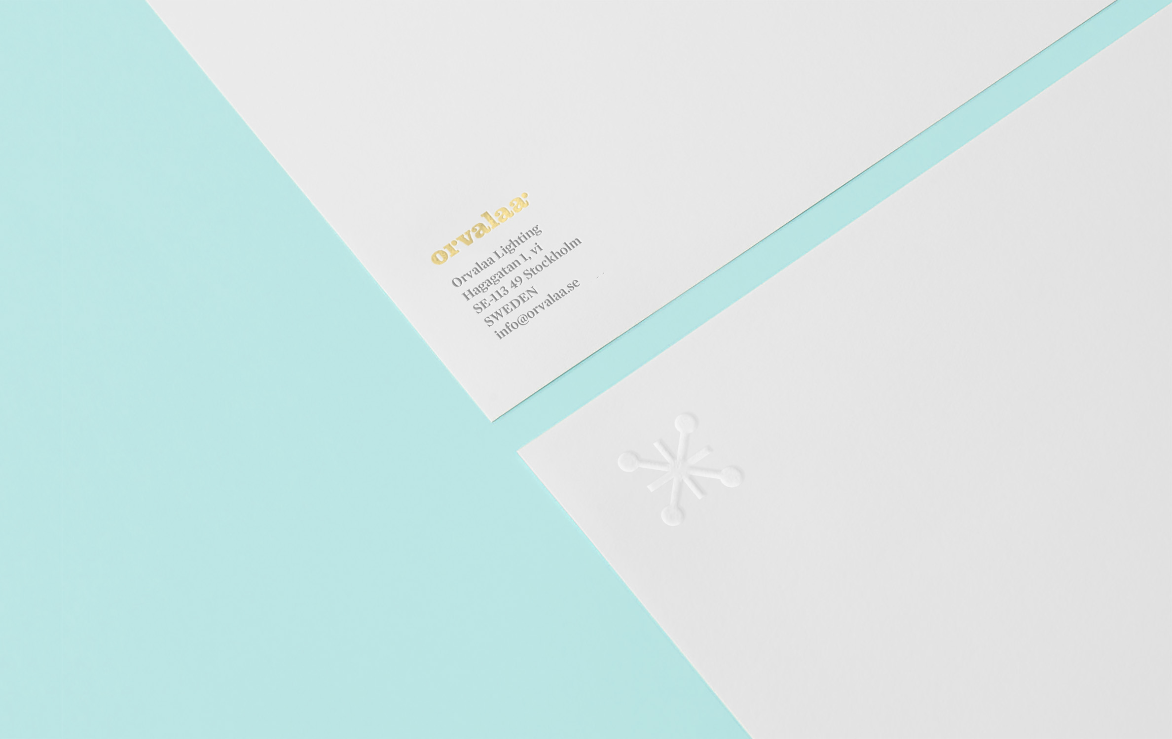 stationary design branding