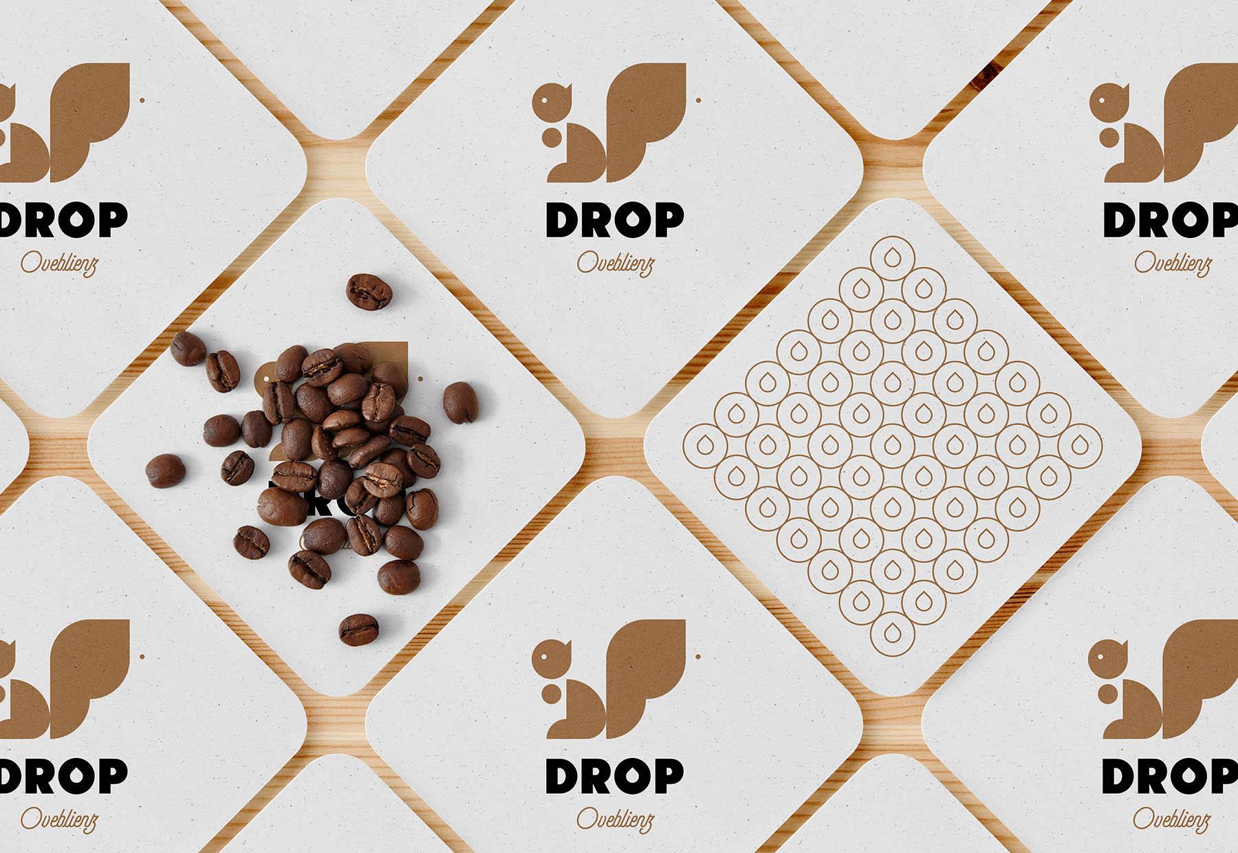 beer coaster graphic design