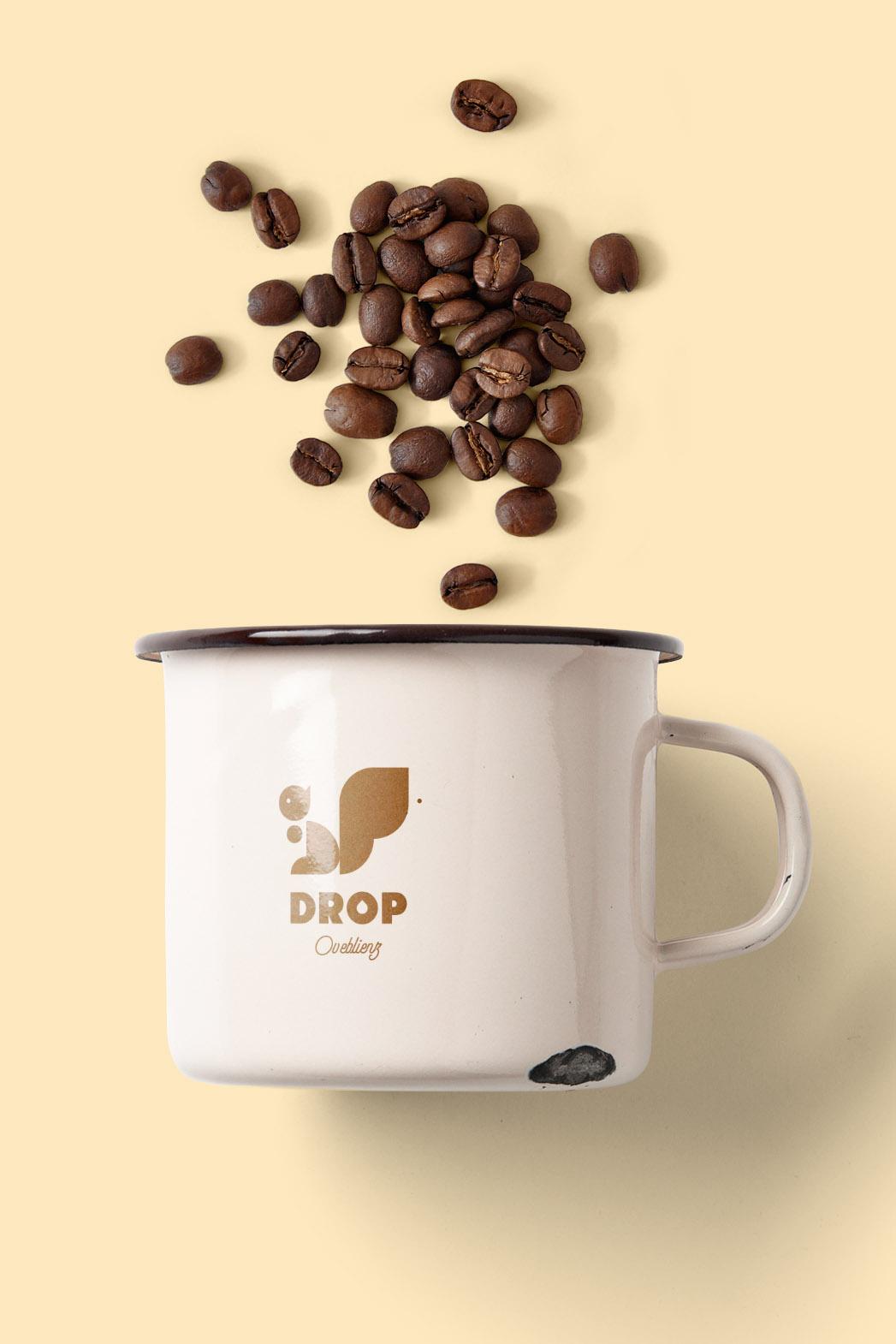 enamel cup design for coffee shop